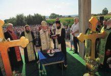 osveceni krstovi nove loznicke crkve