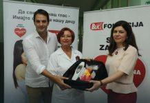 Porodilišta u Loznici i Ljuboviji dobila aparate za neonatalni skrining sluha