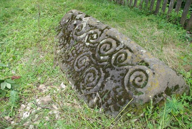 rimski kamen u blizini koviljkinog grada